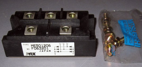 ME501206 - 1200V 60A Three-Phase Bridge Rectifier (Powerex)