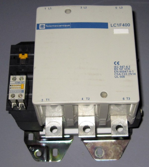 LC1F400 - Contactor (Telemecanique) - Used