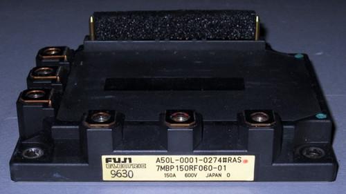 A50L-0001-0274#RAS (Fanuc) - Also: 7MBP150RF060-01 (Fuji) - IGBT-IPM - Used