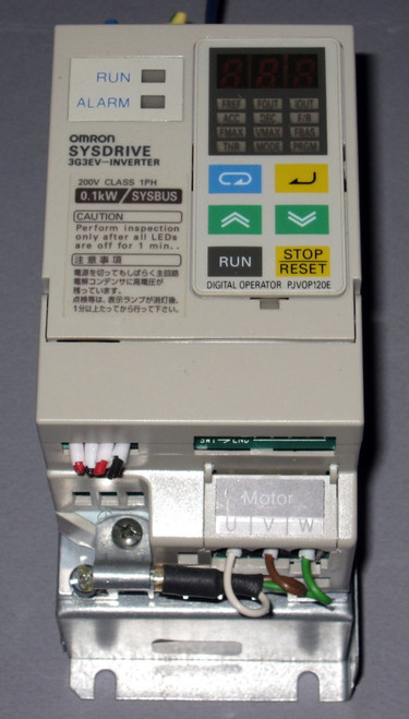 3G3EV-AB001R-E - SYSDRIVE Inverter (Omron) - Used