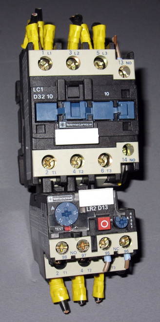 LC1-D32-10 - LR2 D13 - Contactor (Telemecanique / Group Schneider) - Used