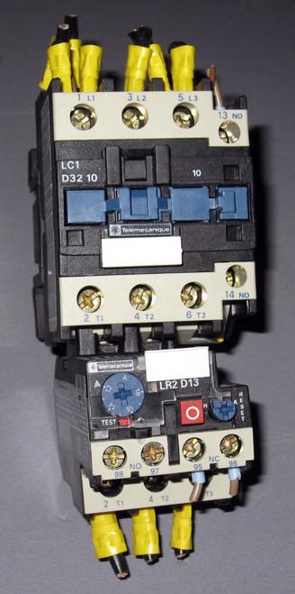LC1-D32-10 - LR2 D13 - Contactor (Telemecanique / Group Schneider) - Used