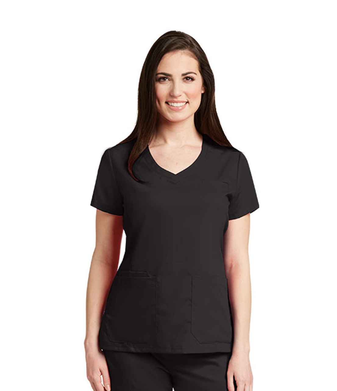 Grey's Anatomy™ 4 Pocket Stylized Princess Seam Top