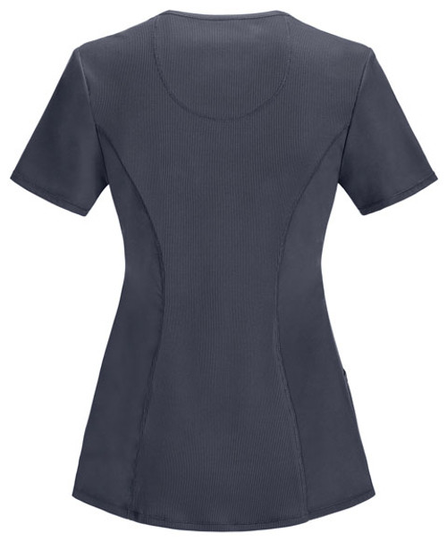 2624A Top in Pewter - Back View