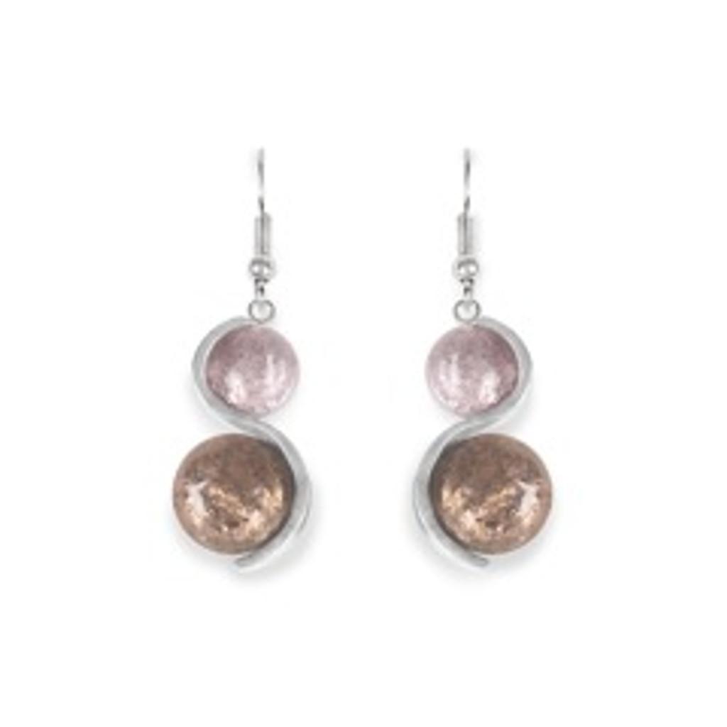 2119-6 - Bubble Earring Mink