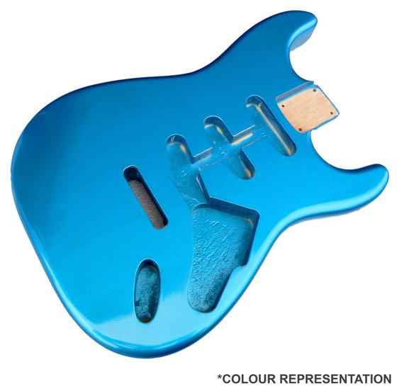 Lake Placid Blue Nitrocellulose Chip Repair Guitar Paint