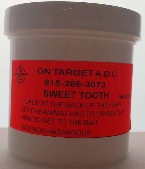 Sweet Tooth paste bait 6oz