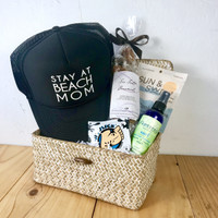 Stay at Beach Mom Basket