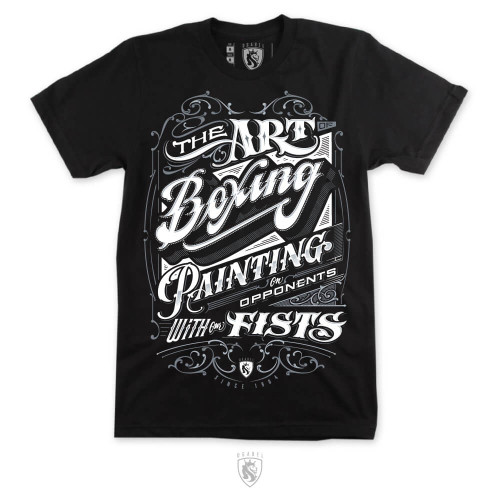 """You Can T Play Boxing Shirt: """"Can't Play Boxing"""" Premium Fitted Men's Tee By OGABEL"""