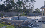 Hurricane Pool Cleanup