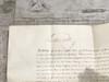 Queen Victoria Signed Document