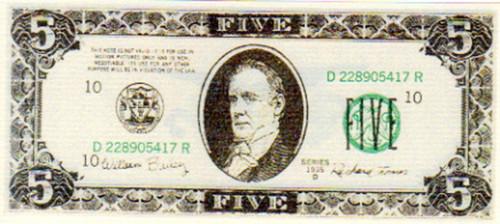 Punisher, Real Prop $5 Money, John Travolta, Thomas Jane