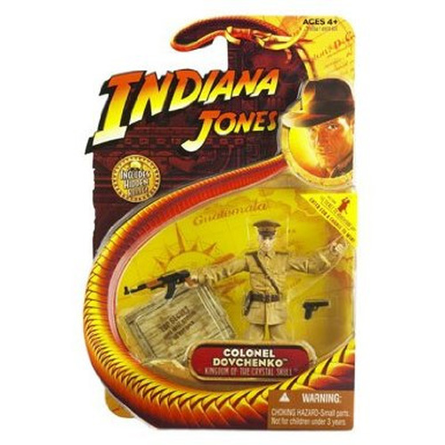 Indiana Jones Colonel Dovchenko Action Figure, New