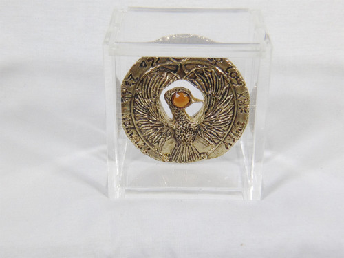 Raders Of the Lost Ark, Indiana Jones, RA Headpiece Custom Acrylic Case, Very Detailed