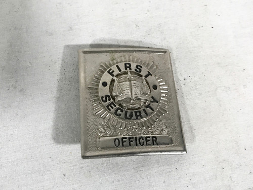 007 James Bond, Die Another Day, Officers Badge Real Prop