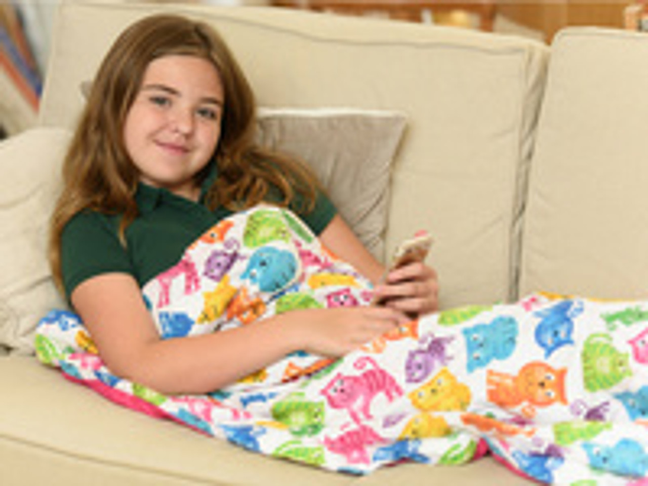 Kids not sleeping?  Solution Found in a Weighted Blanket