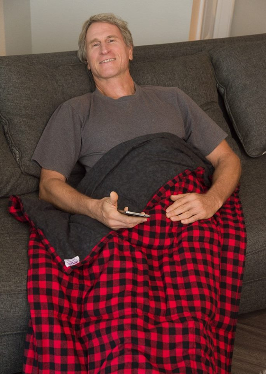 Need that extra umph to help relax?  Why weighted blankets are a great addition to everyone's lives