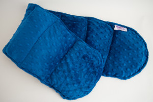 Royal Blue Minky Weighted Shoulder Wrap 3.5 lbs