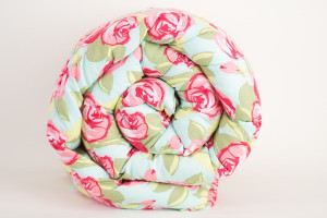 Pink Roses Weighted Blanket