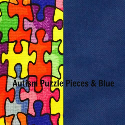 Puzzle Pieces & Blue