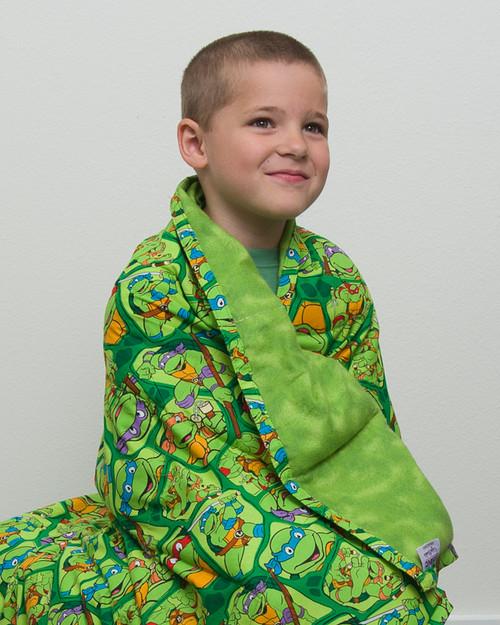 Teenage Mutant Ninja Turtles Kids Weighted Blanket