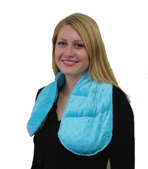 Weighted Shoulder Wrap in Minky Fabric, 3 lbs