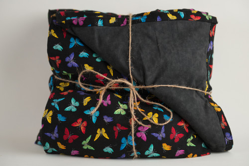 Colorful Butterflies Cotton Weighted Blanket