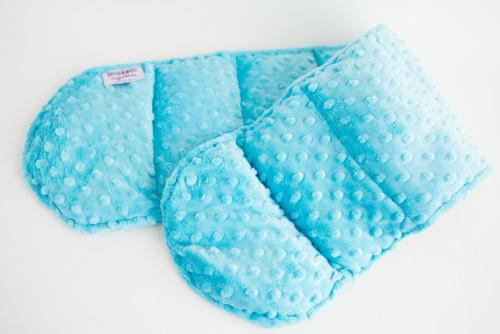 Ocean Blue Minky Weighted Shoulder Wrap 3.5 lbs