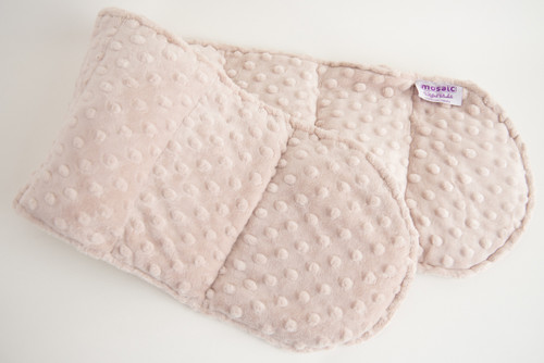 Latte Minky Weighted Shoulder Wrap 3.5 lbs