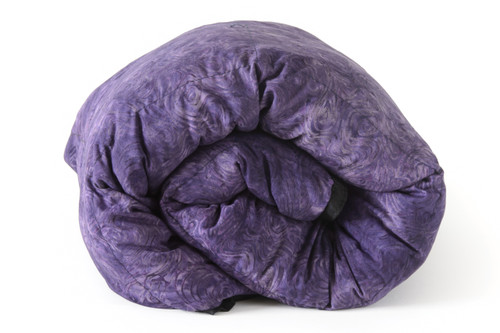 Smokey Purple Batik with Black backing 100% Cotton Weighted Blanket starting at: