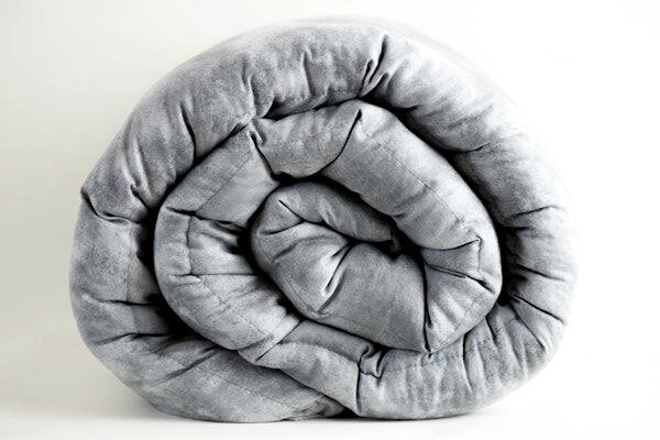 Lunar Grey Weighted Blanket