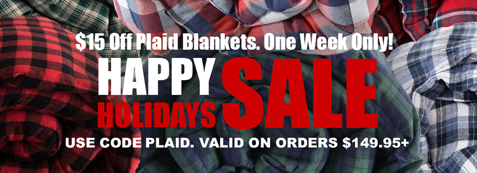 Plaid Weighted Blankets Sale