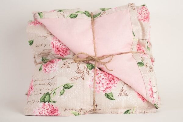Pink Blossoms Weighted Blanket