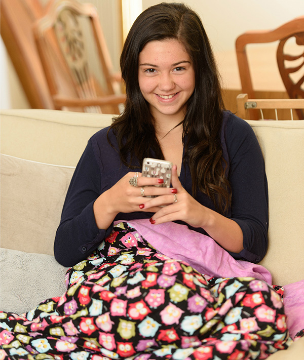 Teen Girls Weighted Blanket
