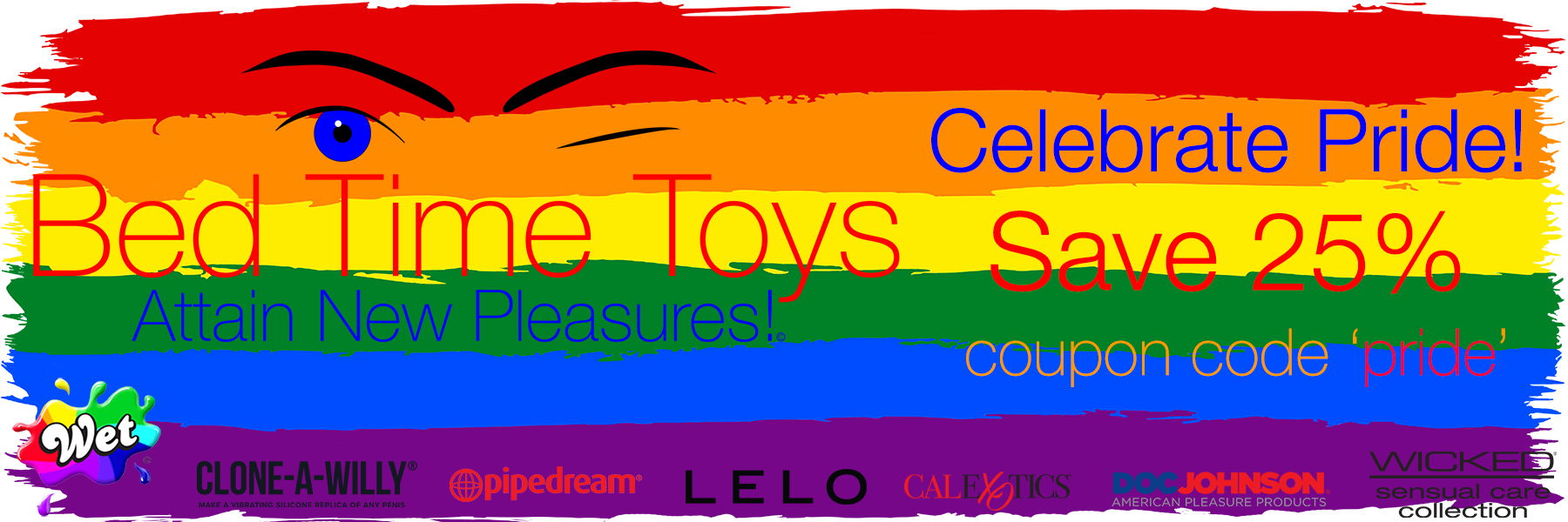 Bed Time Toys, Pride Sale, Sex Toy, Sale