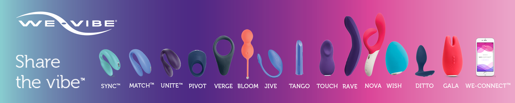 We-Vibe at Bed Time Toys