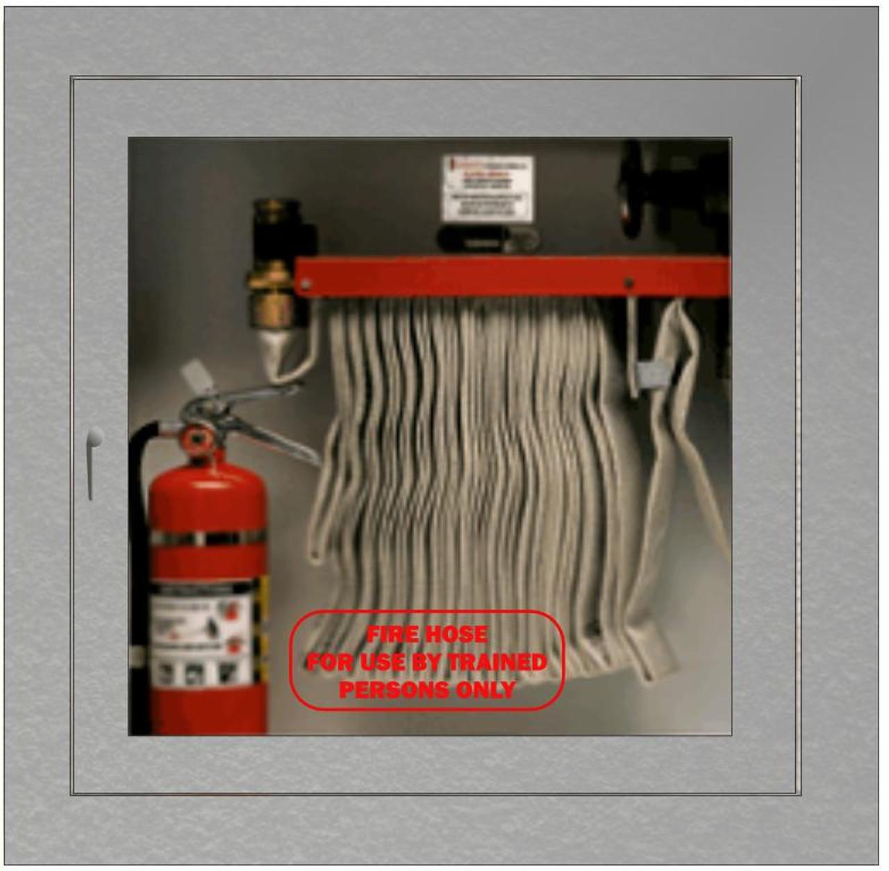 Fire Hose Cabinet Sticker Red Apex Window Films