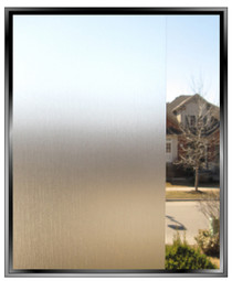 Brushed - DIY Decorative Privacy Window Film
