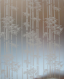 Bamboo Matte - DIY Decorative Privacy Window Film
