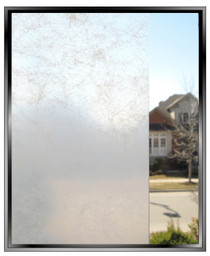 Smoke - Blue - DIY Decorative Privacy Window Film