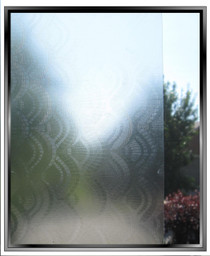 Embossed Shells - DIY Decorative Light Duty Window Film
