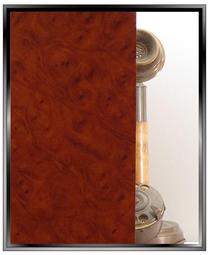 Woodgrain - Burled Cherry  - DIY Low-Tack Film