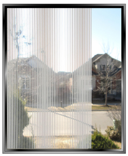 Wave Length - DIY Decorative Privacy Window Film