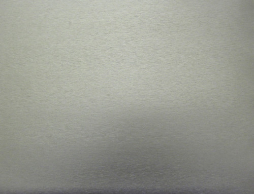 Opaque Metallic - Brushed Aluminum- DIY Low-Tack  Film