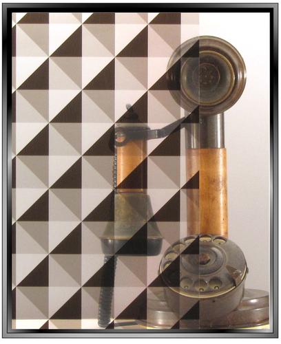 Apex Delta - Dark - DIY Decorative Window Film
