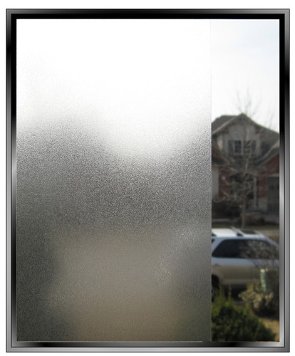 Low Tack Silky Matte DIY Decorative Privacy Window Film
