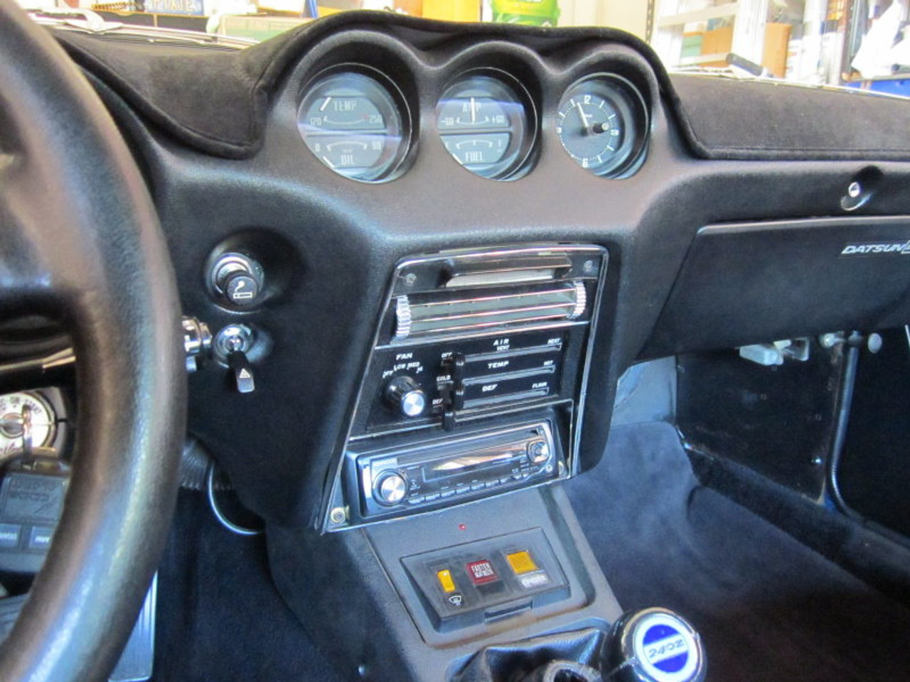 1970 1971 1972 1973 Datsun 240z Air Conditioning Heater