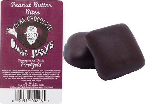 Dark Chocolate Peanut Butter Pretzel Bites