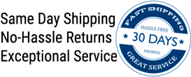 Fast Shipping and No Hassle Returns