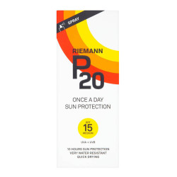Riemann P20 Once a Day Sun Protection SPF 15 Spray 200ml